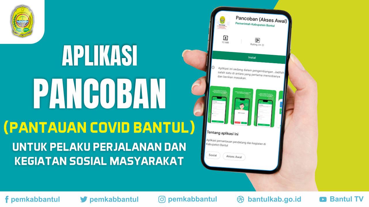 Aplikasi Pantauan Covid di Kabupaten Bantul (PANCOBAN)