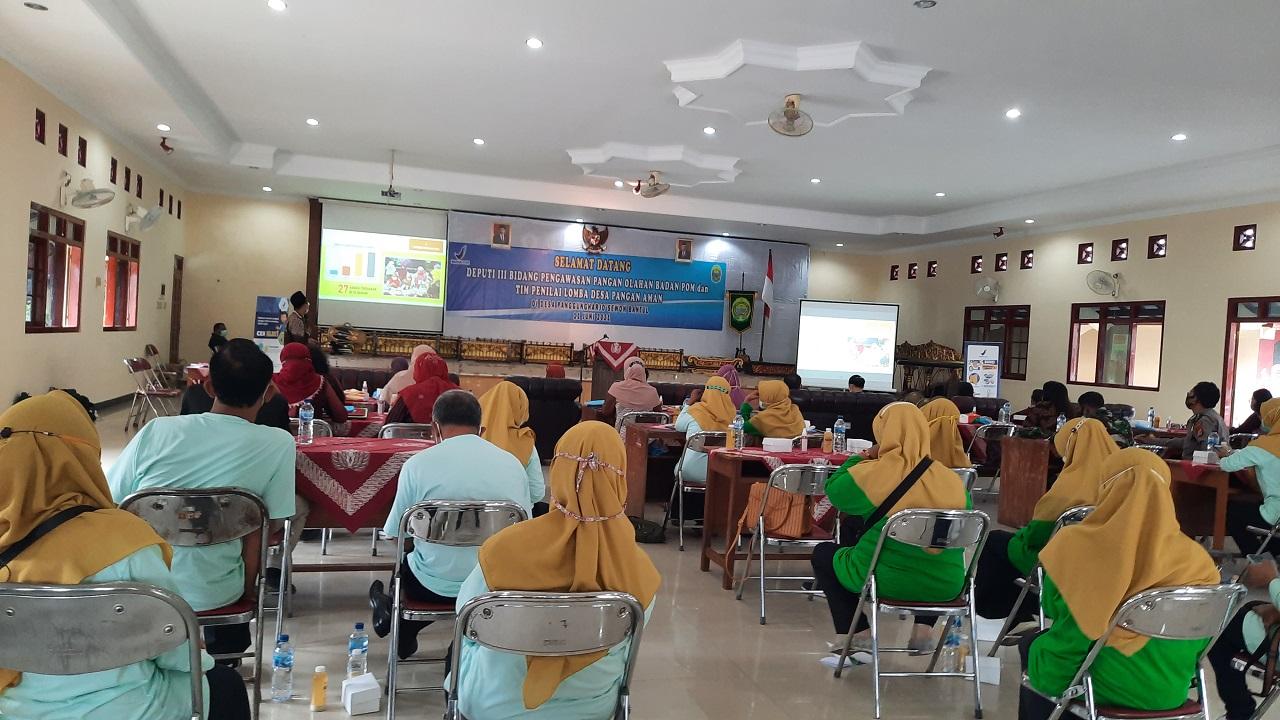Wakil Bupati Bantul Sambut Tim Lomba Desa Aman Pangan di Kalurahan Panggungharjo