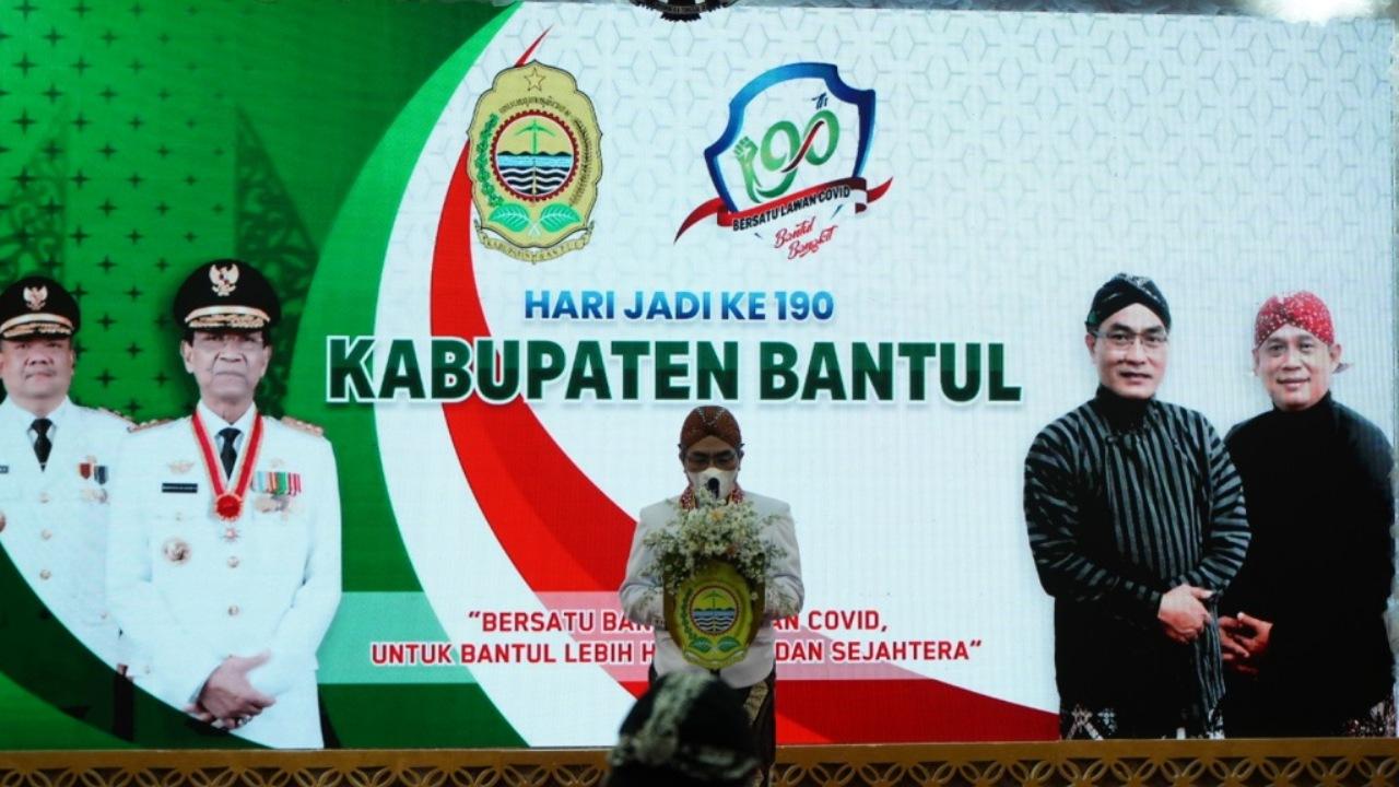 Peringati Hari Jadi Ke-190, Pemkab Bantul Launching Layanan Masyarakat Bantulpedia