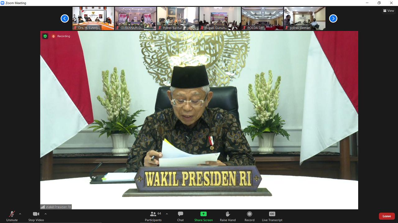 Penanganan Covid-19 di Daerah Istimewa Yogyakarta