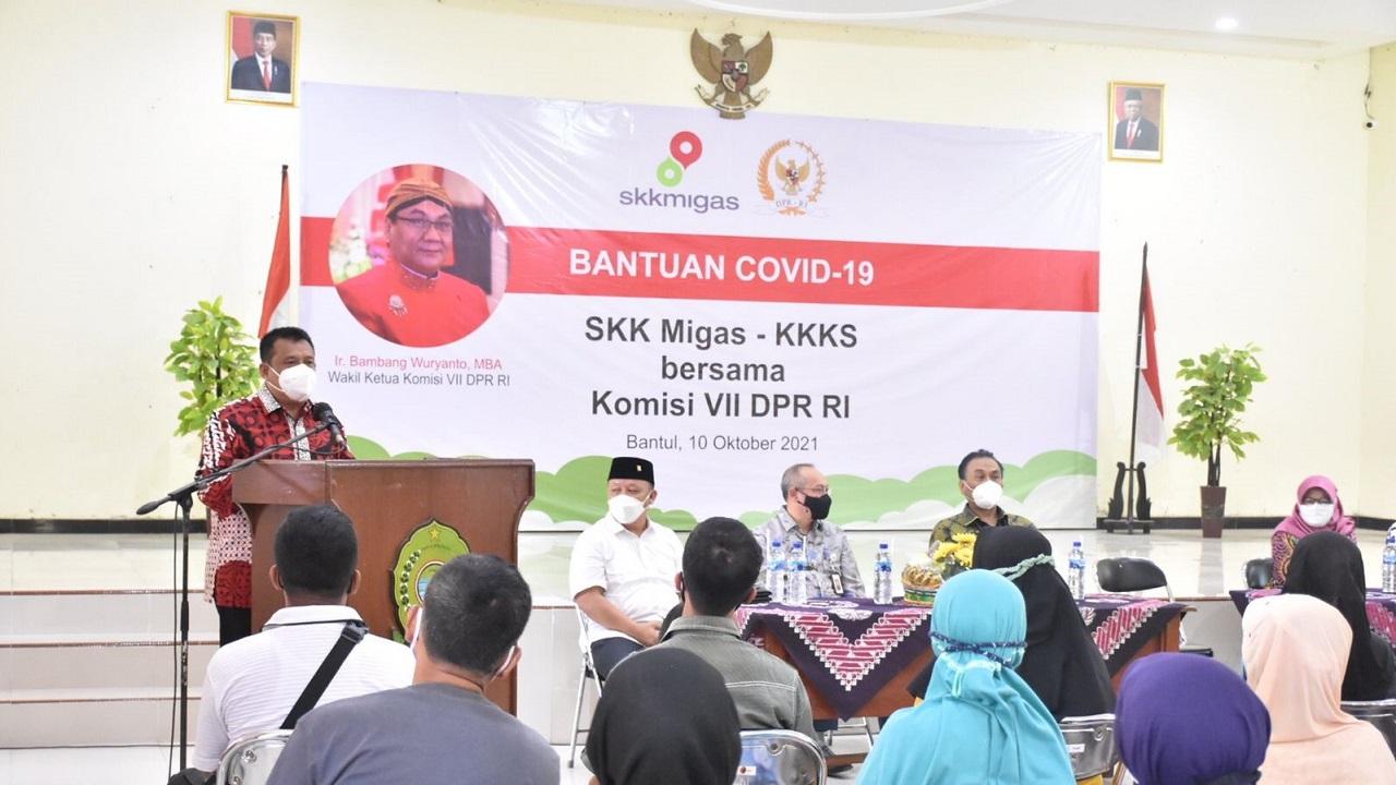 Wakil Bupati Bantul  Menerima Kunjungan Kerja Wakil Ketua Komisi VII DPR RI