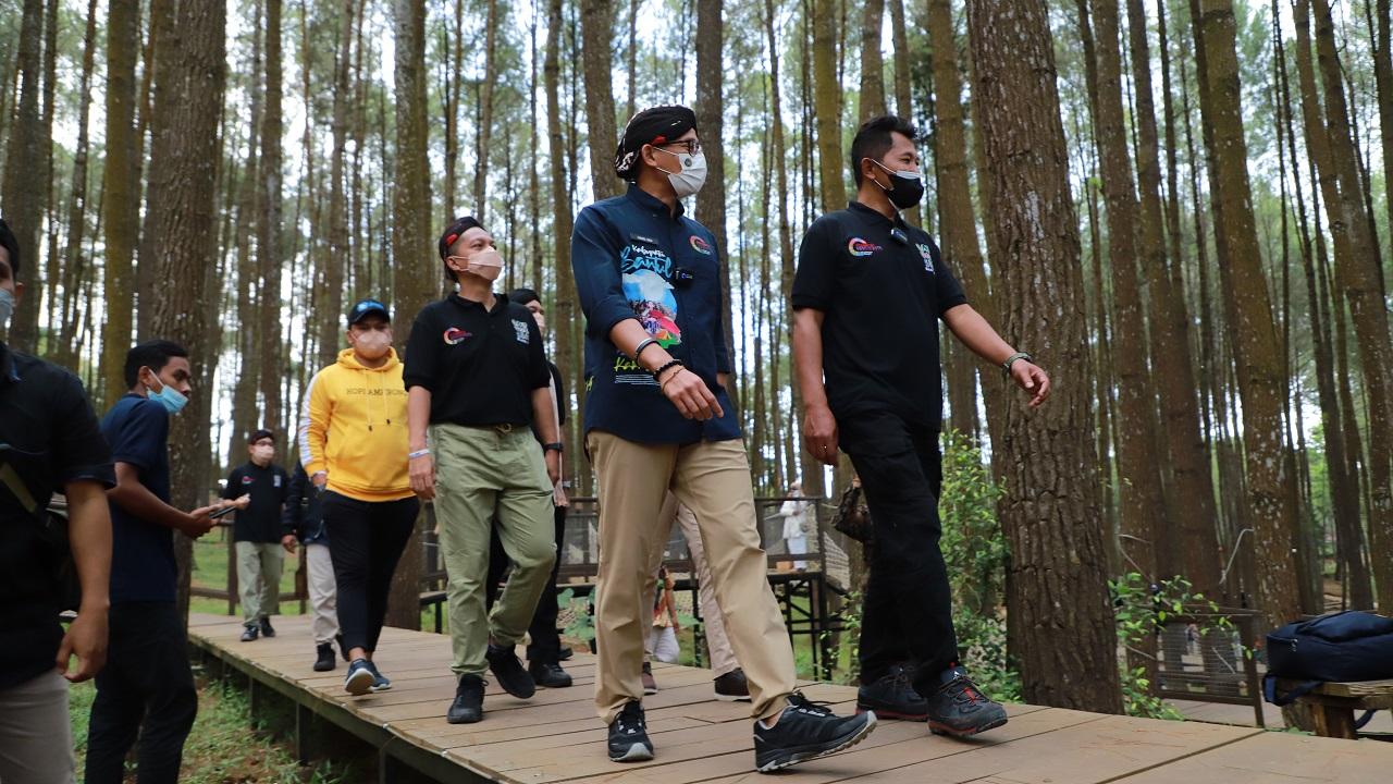Desa Wisata Kaki Langit Mangunan, Masuk 50 Desa Wisata Terbaik di Indonesia